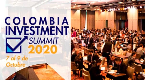 Más de 550 inversionistas del mundo se darán cita en el evento de Colombia Investment Summit