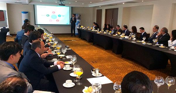 Acercamiento entre el Valle del Cauca y la comunidad empresarial coreana, Invest Pacific