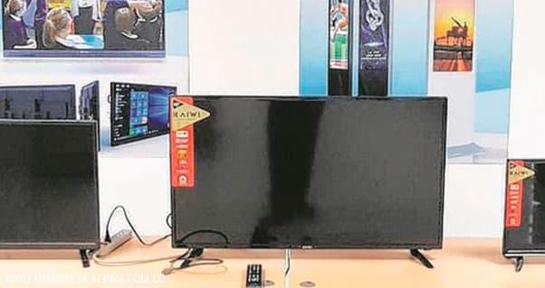 Salen al mercado los televisores 'made in Valle', Invest Pacific