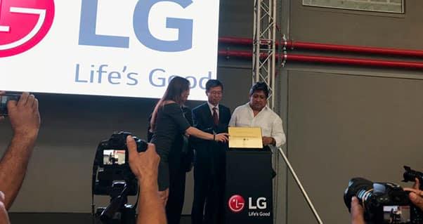 LG Electronics establece nuevo complejo logístico en el Valle del Cauca, Invest Pacific