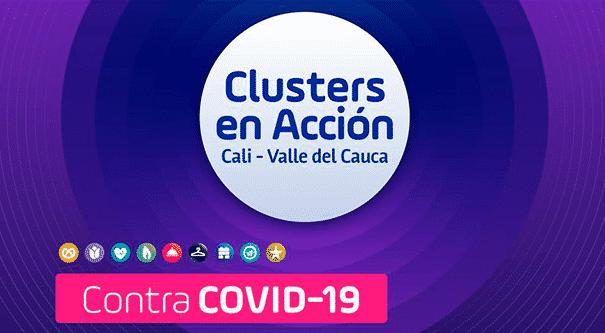 Los empresarios de las Iniciativas Cluster de Cali y el Valle del Cauca contra el COVID 19, Invest Pacific